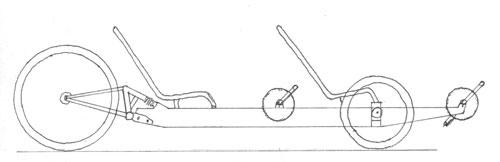 Tandem Recumbent Trike Plans Recumbent Tandem Trike Project