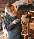 Steve carving Ravens Next